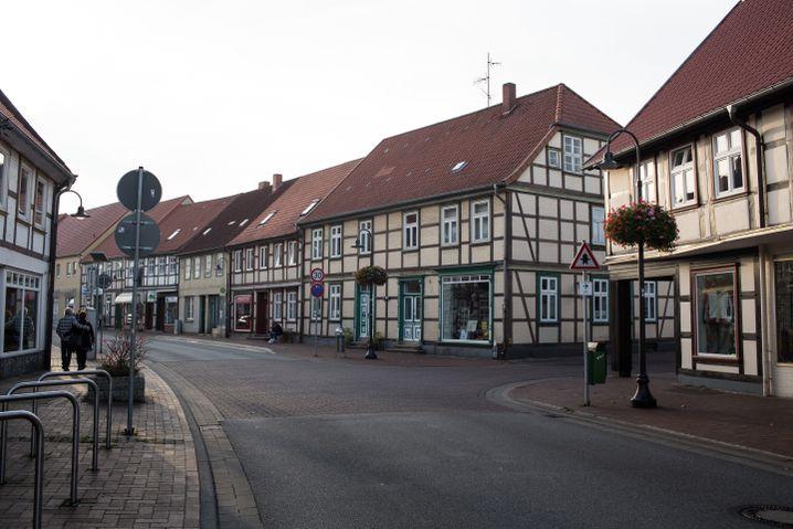 """Straße in Lüchow: """"Weltoffene Gegend"""""""
