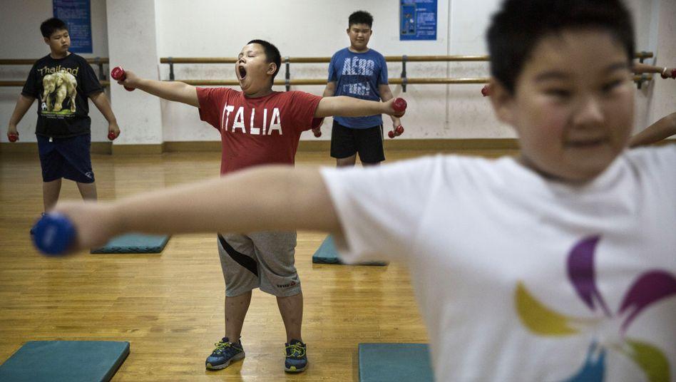 Schüler in China