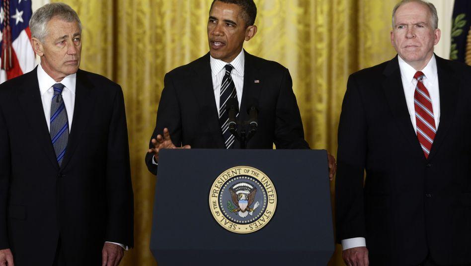 US-Regierung: Obama nominiert Republikaner als Pentagon-Chef