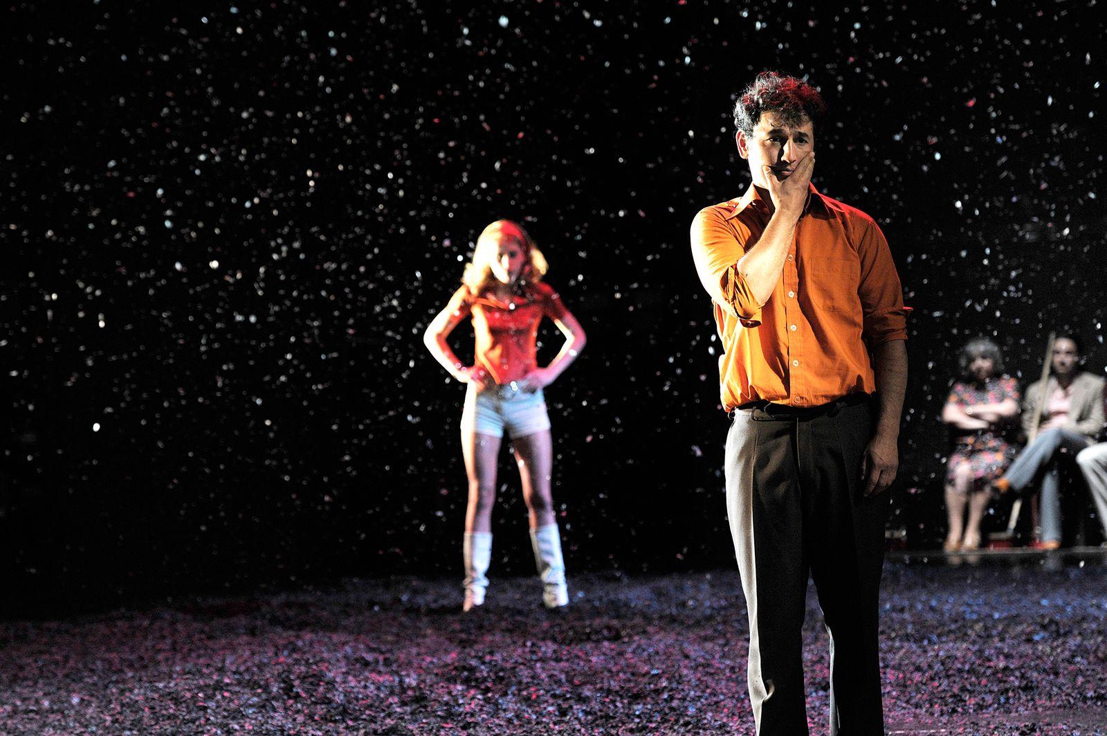 EINMALIGE VERWENDUNG Tageskarte 09.06.14/ Theater/ Angst essen Seele auf