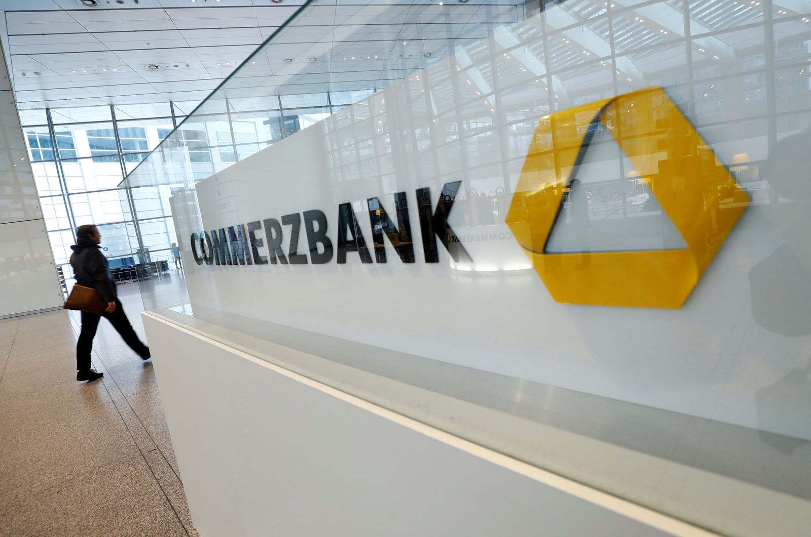 FILE PHOTO: Commerzbank AG news conference in Frankfurt