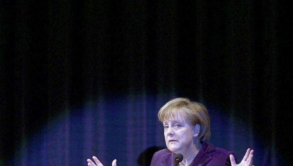 Angela Merkel: Die Kanzlerin als Göttin der gemeinsamen Währung?