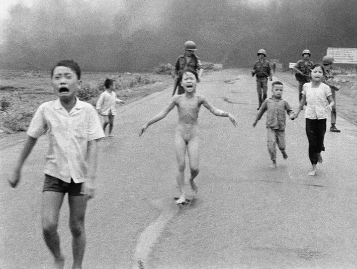 Foto von neunjähriger Kim Phúc: Symbolbild des Vietnamkriegs