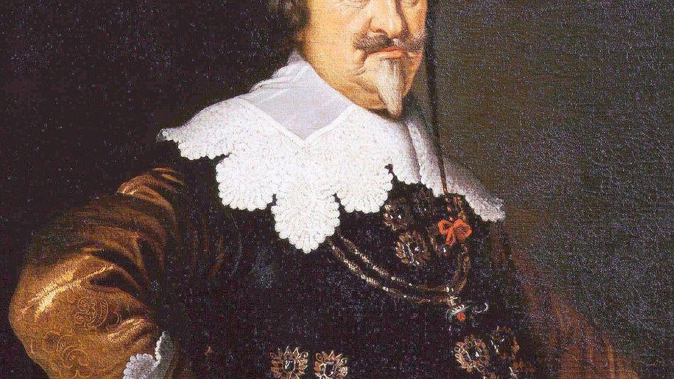 Christian IV. von Dänemark (Porträt von Karel van Mander III.)