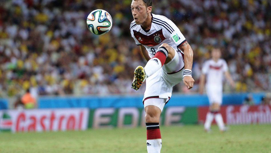 Nationalspieler Özil: Bisher noch nicht geglänzt
