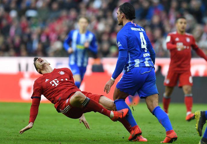 Rerik gegen Lewandowski - Rot.