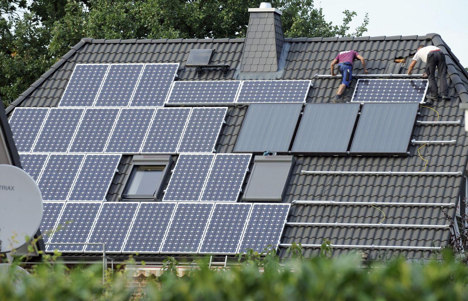 Solaranlage / Haus