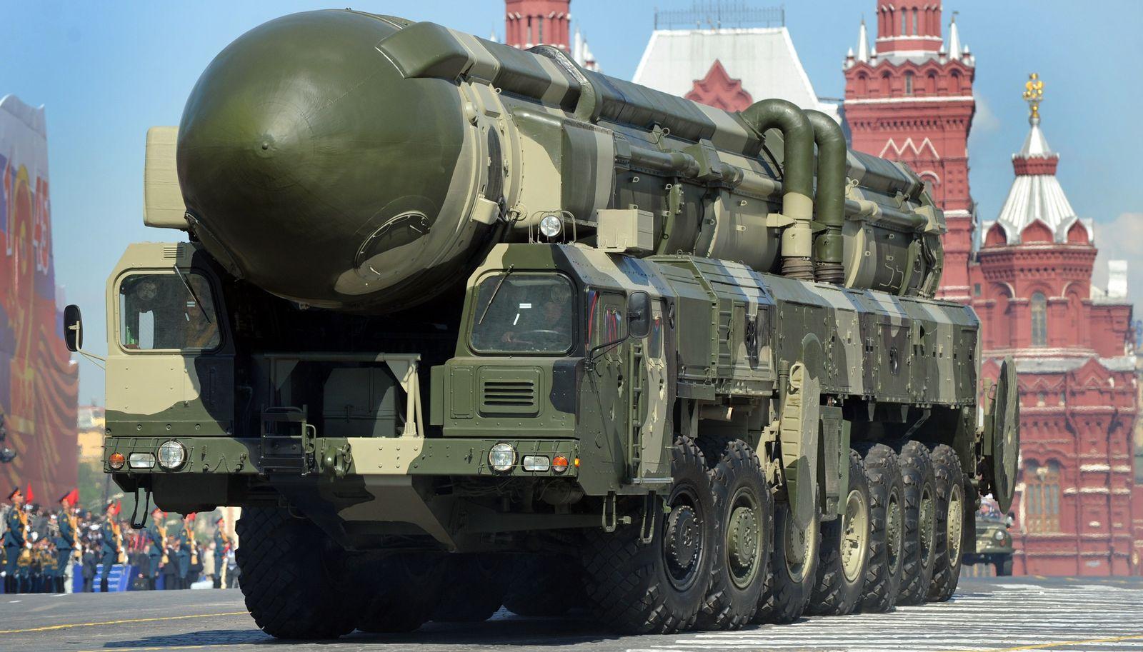 Russland / Interkontinentalrakete Topol-M
