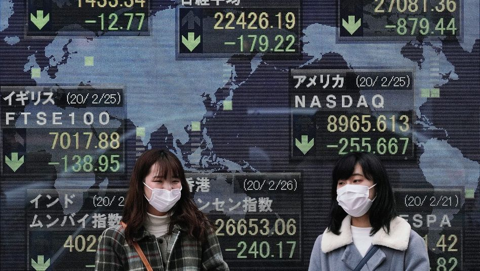 Lange glaubten die Anleger,die Party mit ewig steigenden Kursen könnte auch in Zeiten des Coronavirus weitergehen. Das war ein Irrtum. Seit klar ist, dass sich das Virus auch außerhalb Chinas schnell ausbreitet, hat sich die Stimmung an den Finanzmärkten gedreht. Die Kurse reagieren deutlich - und das könnte erst der Anfang sein.