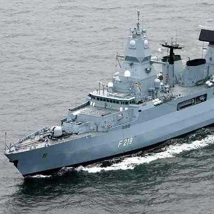 Deutsche Fregatte: Der Einsatz der Marine in Nahost naht.