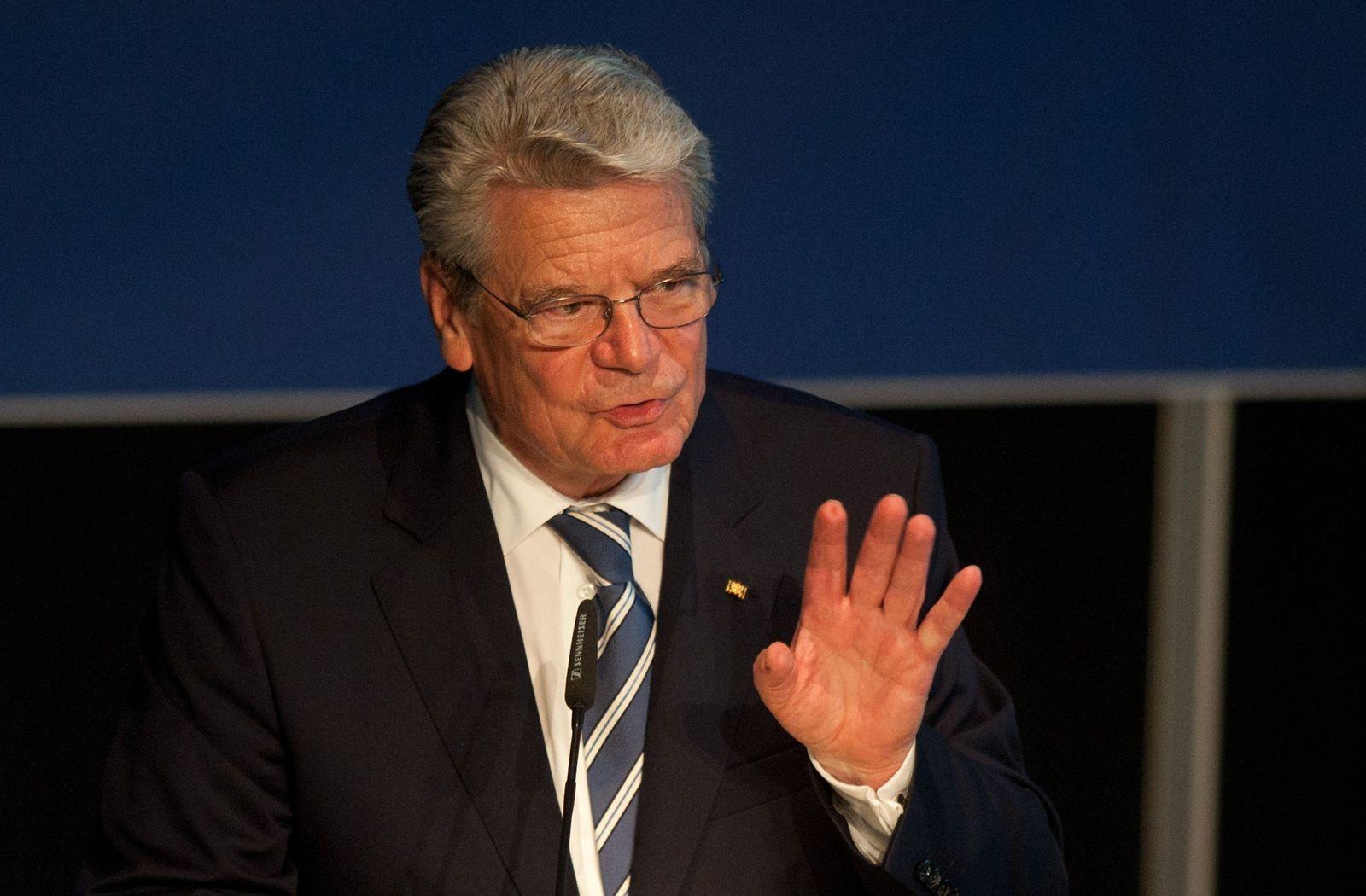 NICHT VERWENDEN Gauck