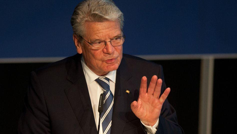 Bundespräsident Gauck: Das Korrektiv in der Krise