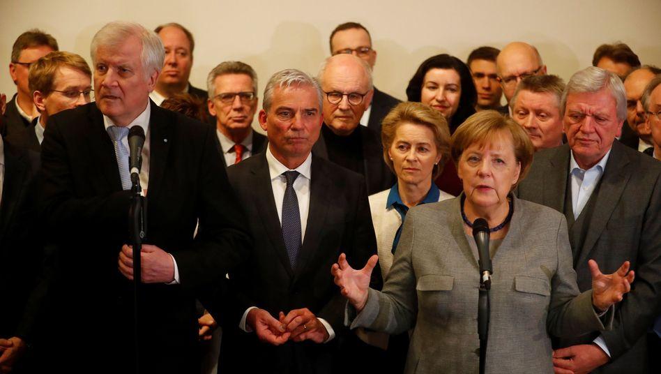Unionspolitiker in Berlin