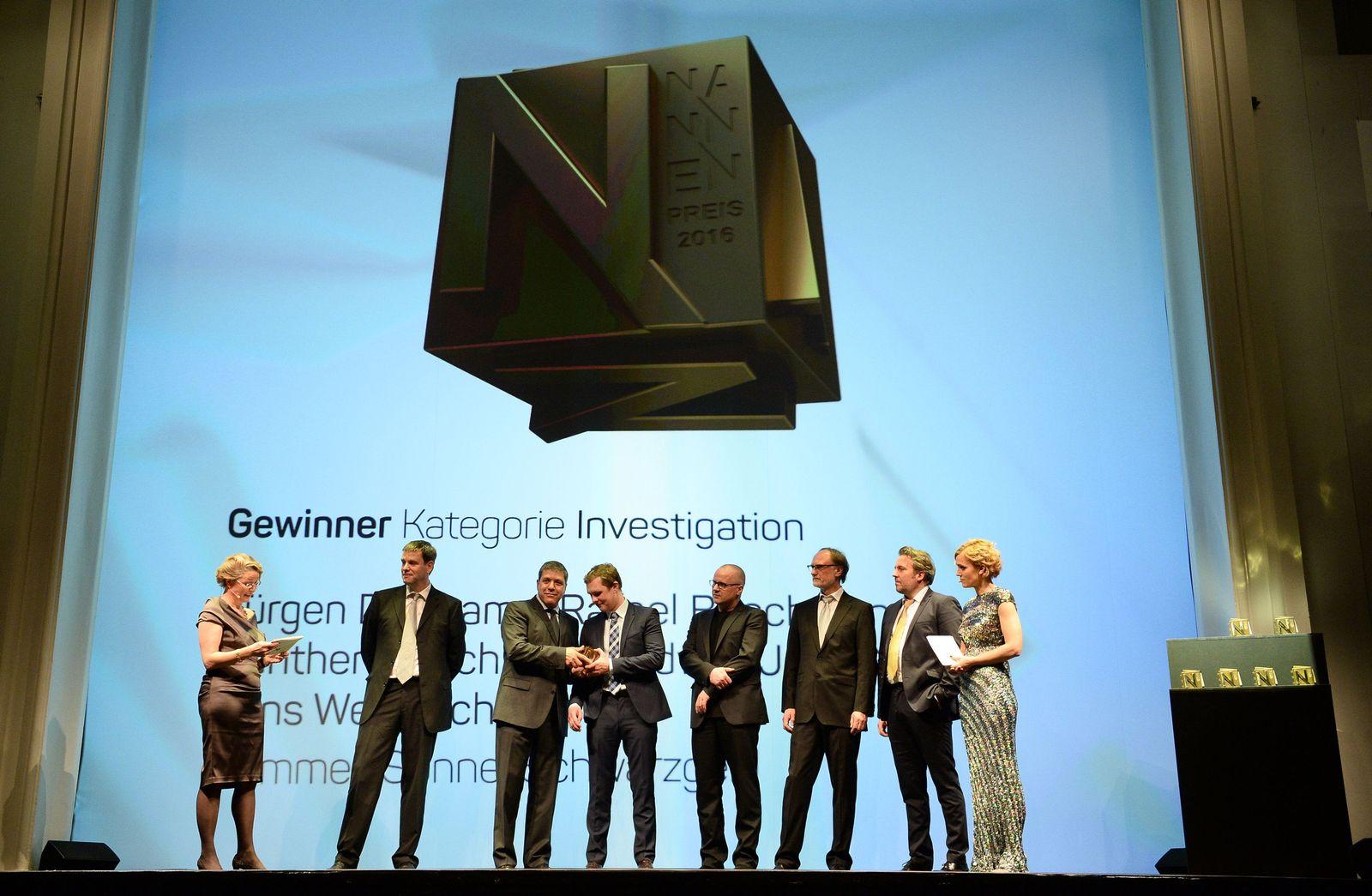 Nannen Preis 2016 - Verleihung