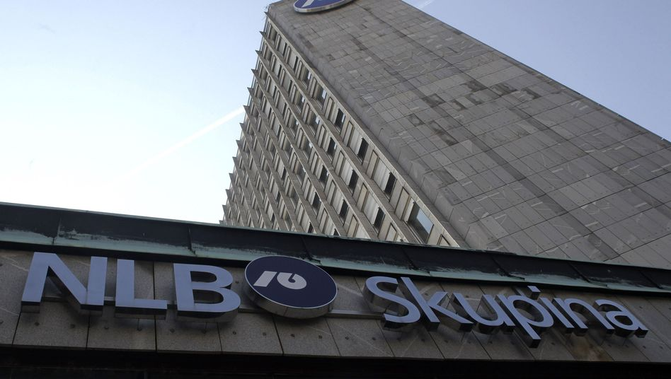 NLB is the largest bank in Slovenia, and has been downgraded by ratings agencies to junk status.