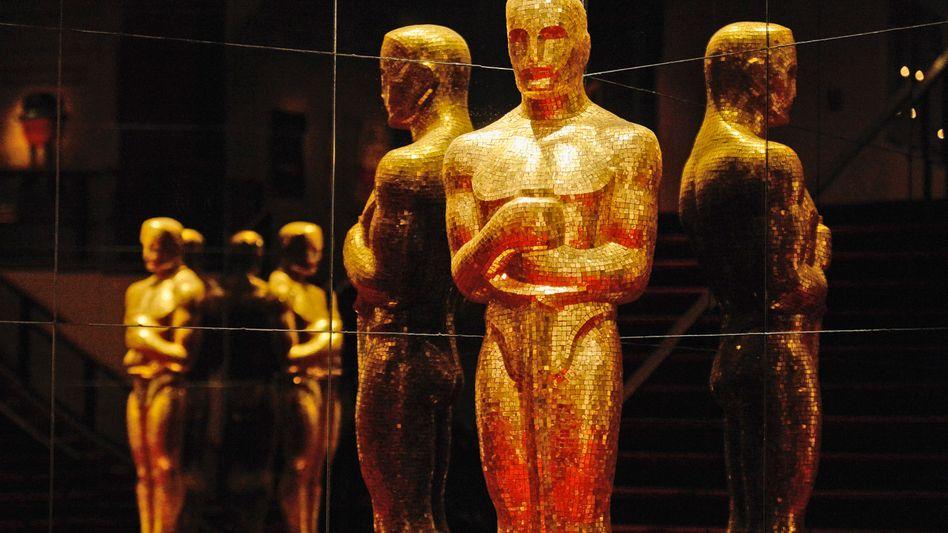 Oscar-Figur (Archivbild): Im kommenden Jahr steigt die größte Hollywood-Sause später