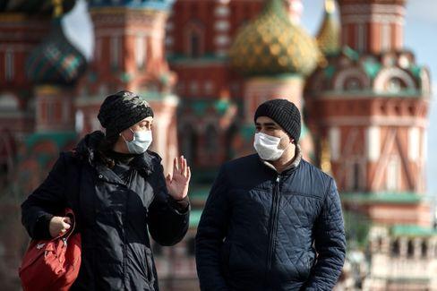 Vor einer Woche durfte man in Moskau noch spazierengehen - nun ist es verboten