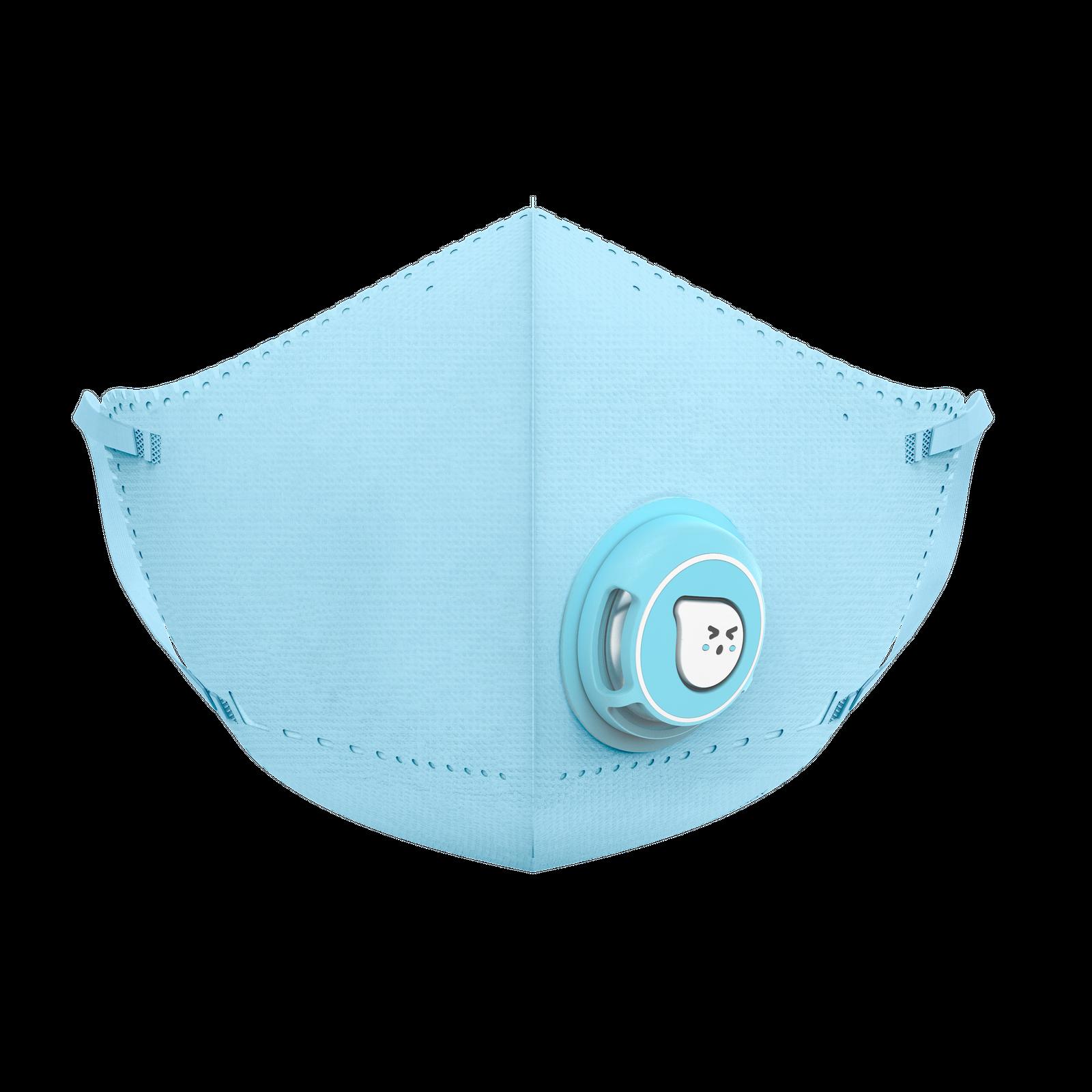AirPOP Kid Mask 蓝色正面