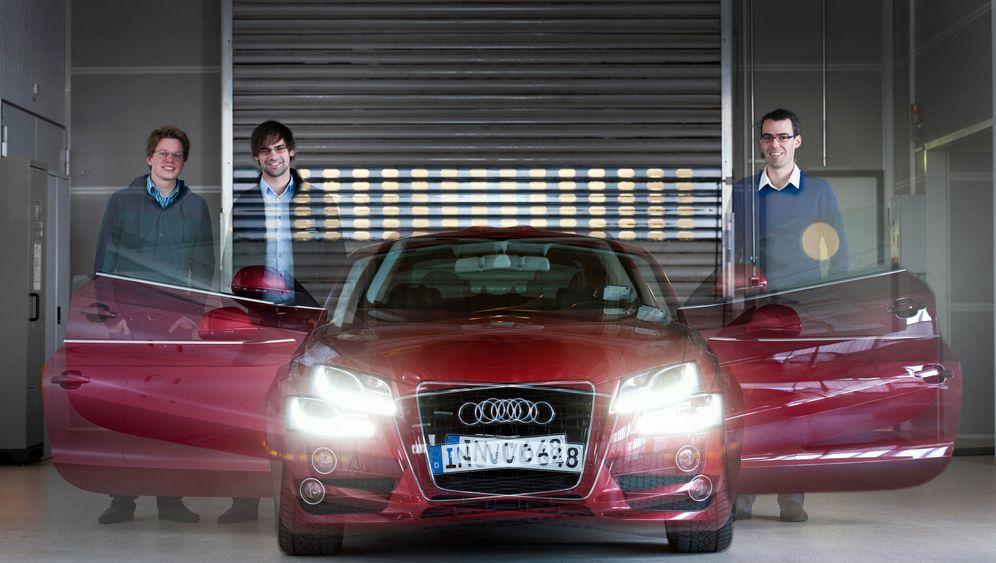 Audi-Neigetechnik: Leg' Dich in die Kurve!
