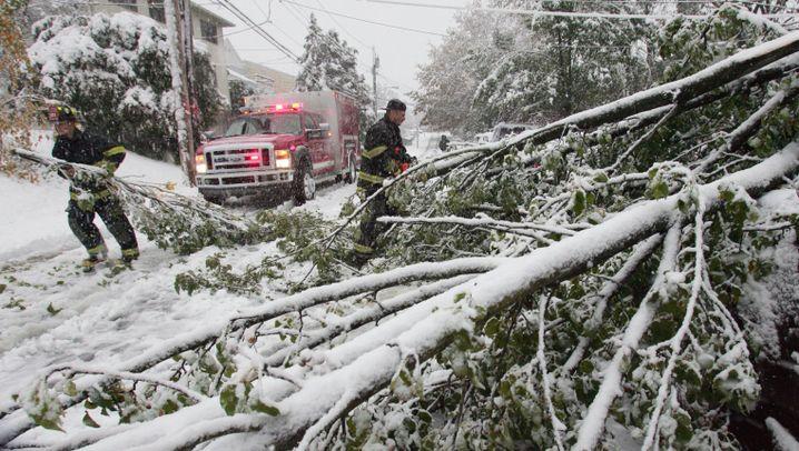 """Schnee-Chaos an der Ostküste: """"Das wird sehr gefährlich"""""""