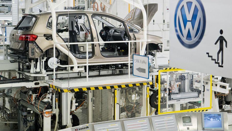 VW-Produktion in Wolfsburg