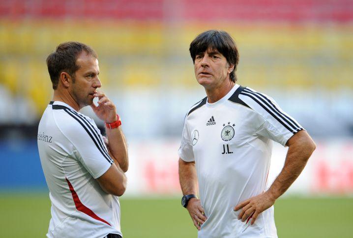 Flick und Bundestrainer Löw: Das Foto stammt aus dem Jahr 2013