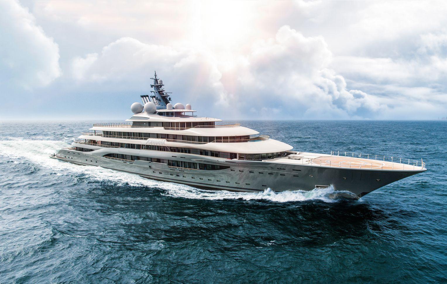 Größte Yachten
