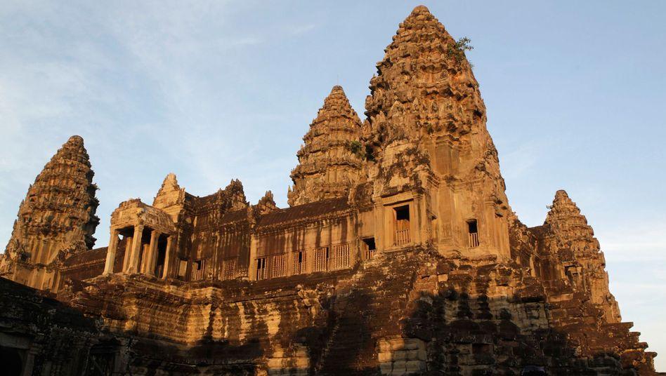 Touristenattraktion Angkor Wat