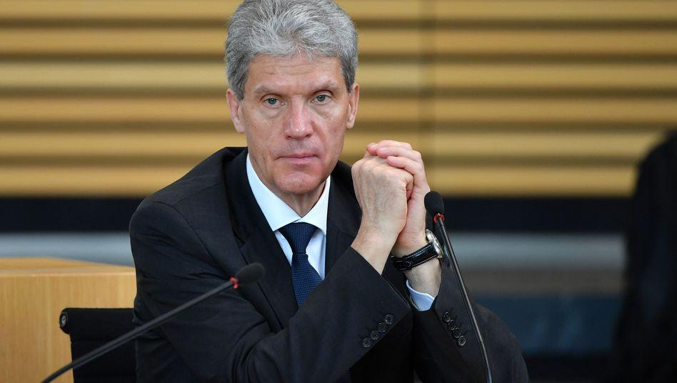 Thüringens Minister für Bildung, Jugend und Sport, Helmut Holter