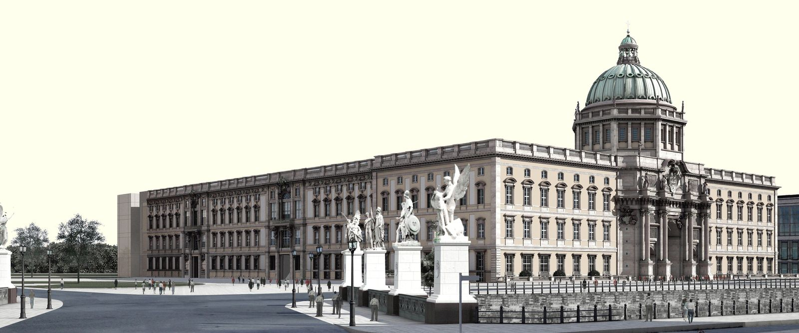 NICHT VERWENDEN Humboldtforum / Stadtschloss