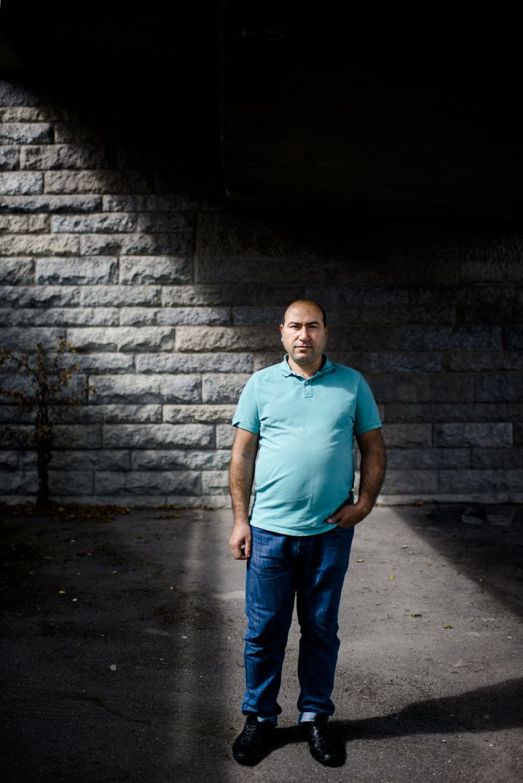 Ehemann Mohamad Ali in Köln