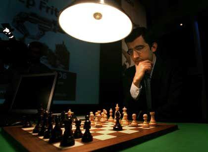 Schach-Großmeister Wladimir Kramnik: Ohne Intuition wäre selbst der analytischste Denksportler aufgeschmissen
