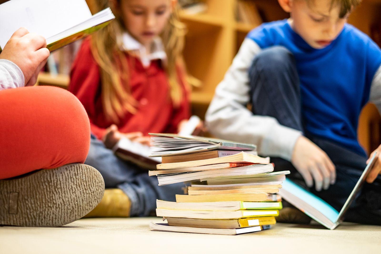 EINMALIGE VERWENDUNG Schüler/ Lesen/ Schule