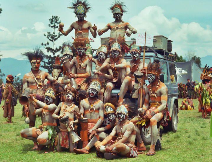 In Papua Neuguinea, 2011