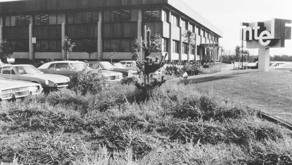 Intel-Zentrale in den Siebzigerjahren