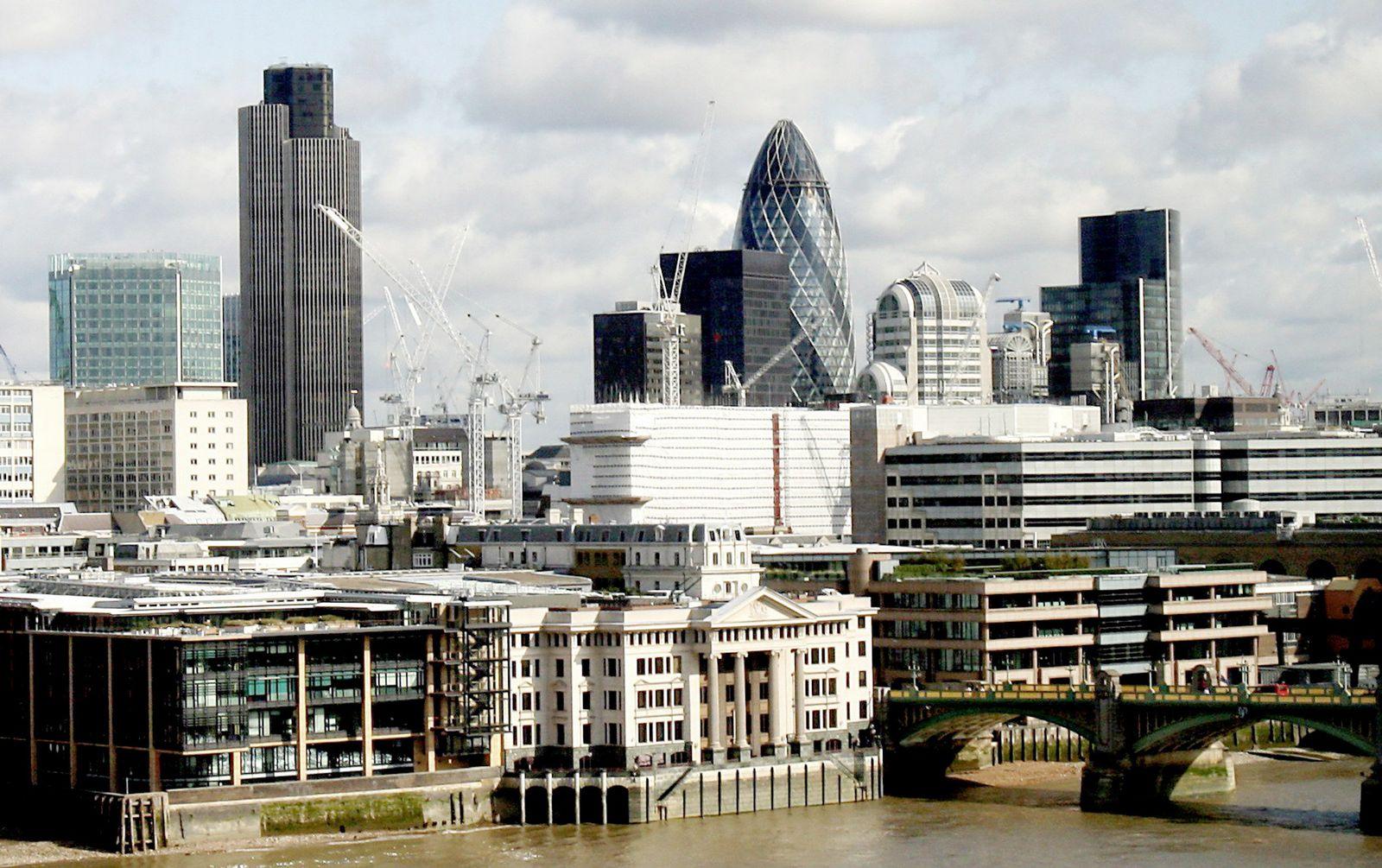 Finanzdistrikt / London