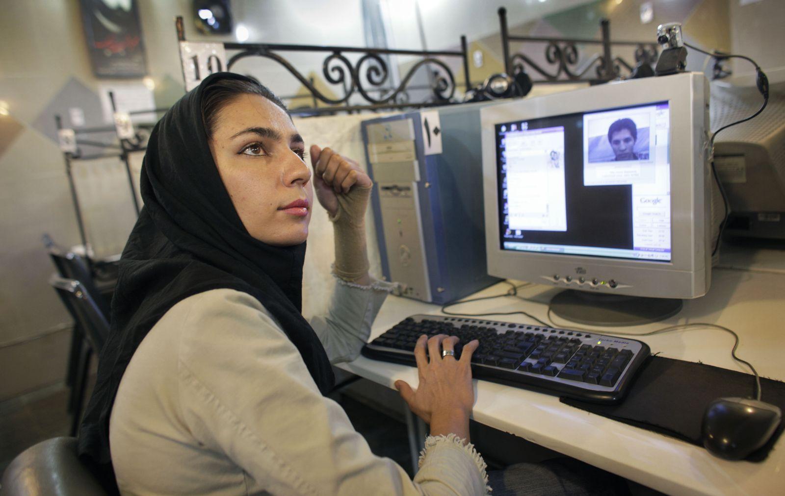 Iran Internetcafe