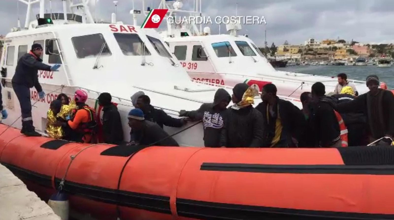 Lampedusa/ Flüchtlinge