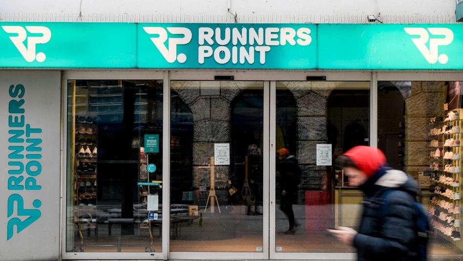 Runners Point Filiale in Hamburg: Schließung aller 73 Geschäfte in Deutschland geplant