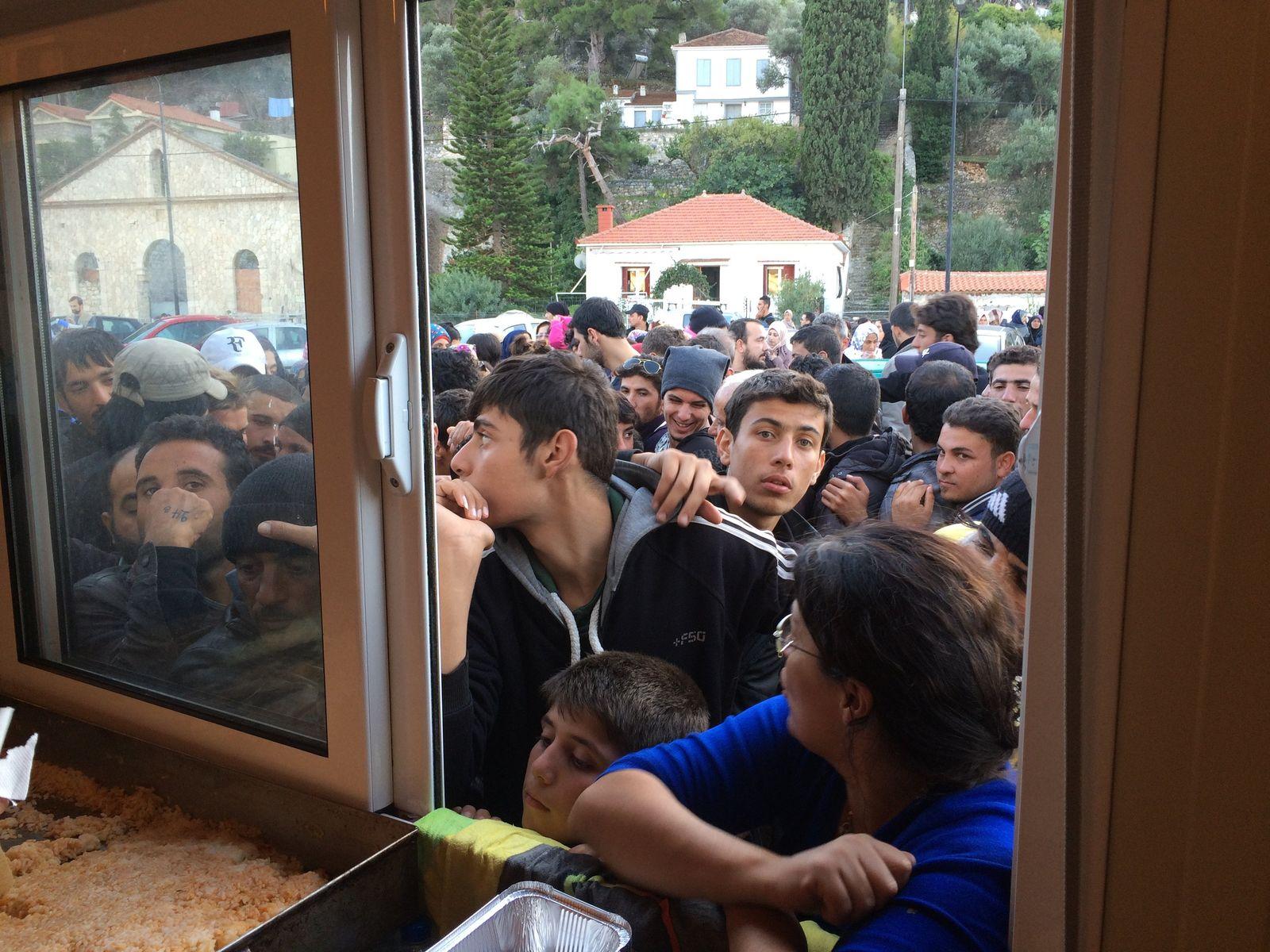 Flüchtlingsnot auf Samos