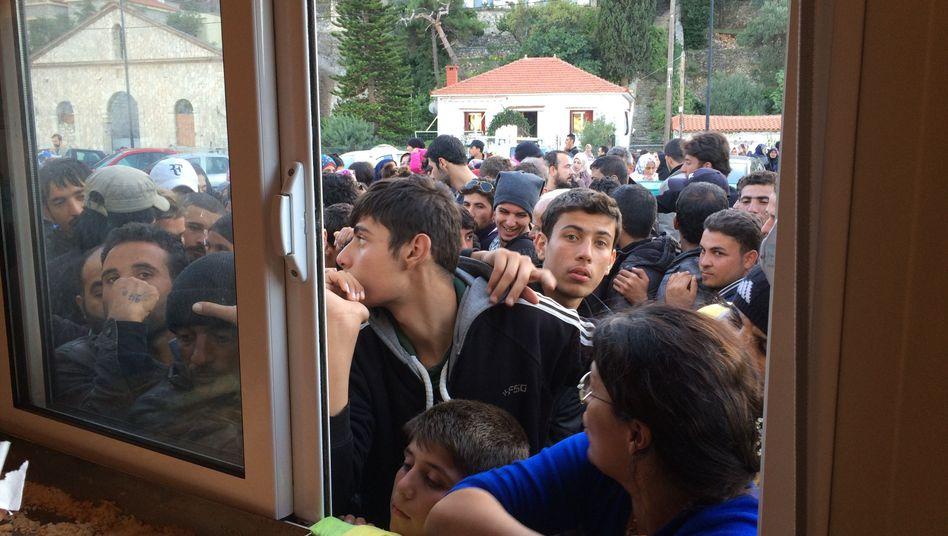 """Flüchtlinge auf Samos: """"Bisher genau null Euro"""""""