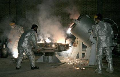 Iranische Aufbereitungsanlage in Isfahan: Uran-Umwandlung wird fortgesetzt