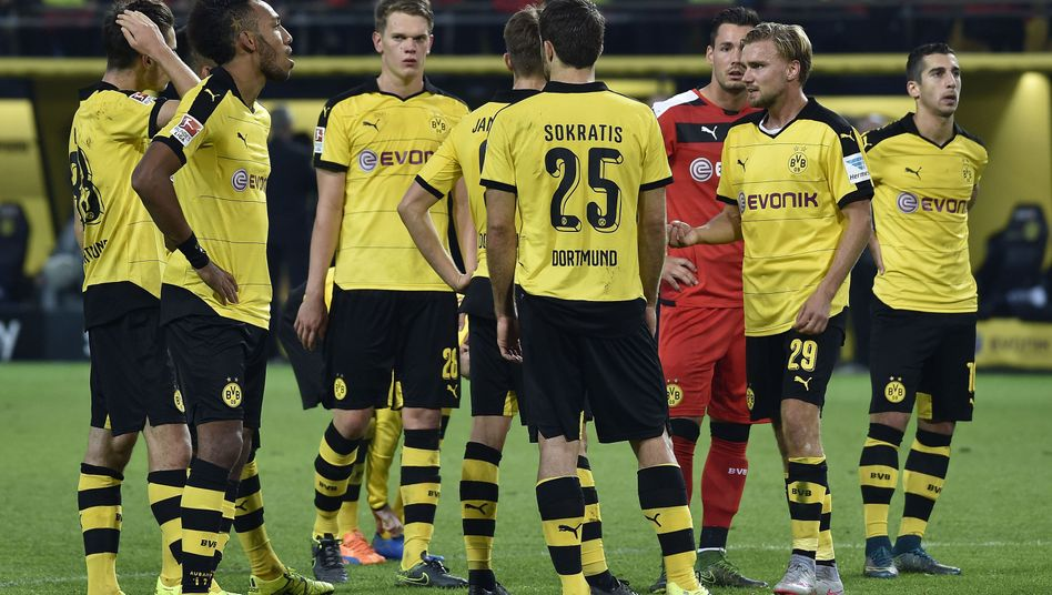 BVB-Profis: Dortmund musste Ausgleich in der Schlussminute hinnehmen