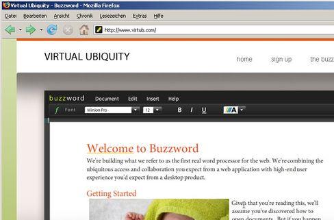 Textverarbeitung Buzzword: Adobes Einstieg in die Textverarbeitung