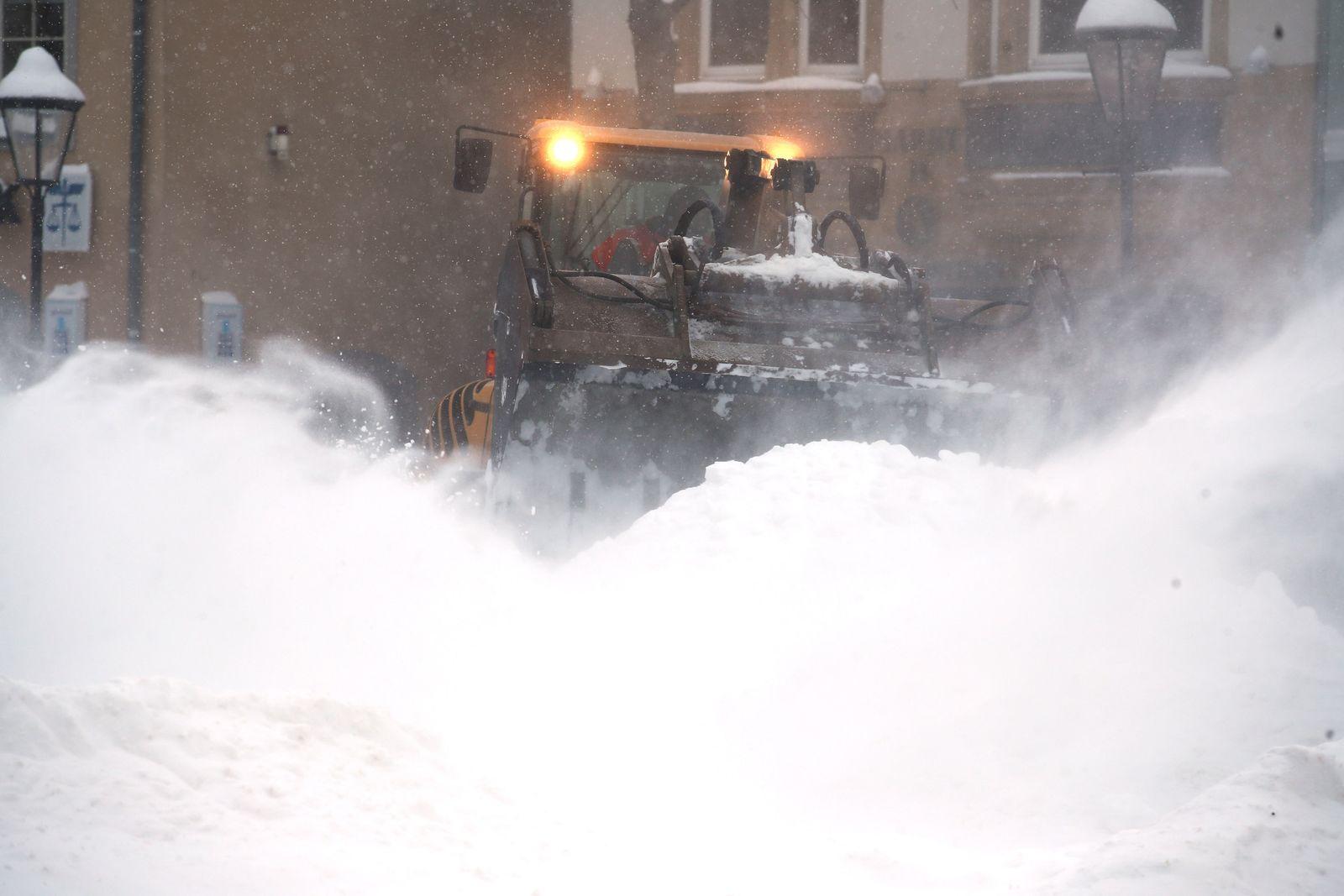 Winterwetter - Jena