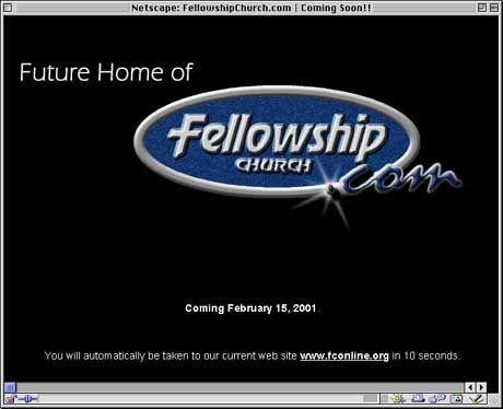 Platzhalter: Hier soll ab 15. Februar der direkte Draht zu Gott verlegt werden