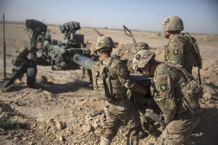 US-Soldaten 2017 in Afghanistan