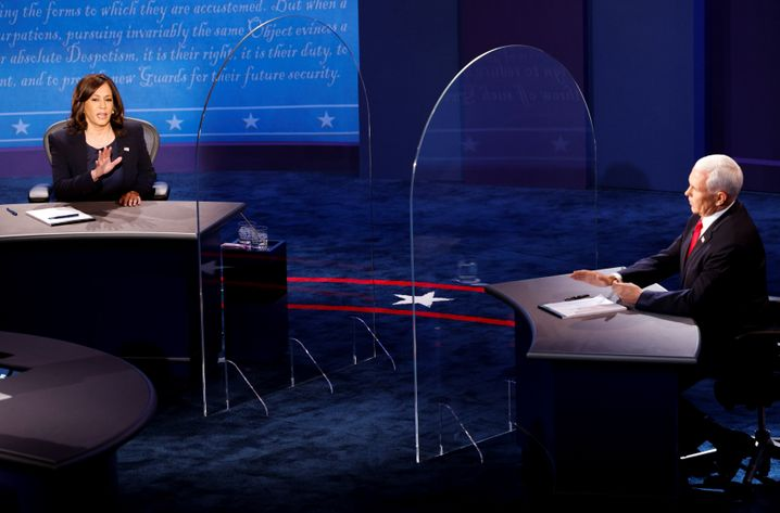Szene aus dem TV-Duell