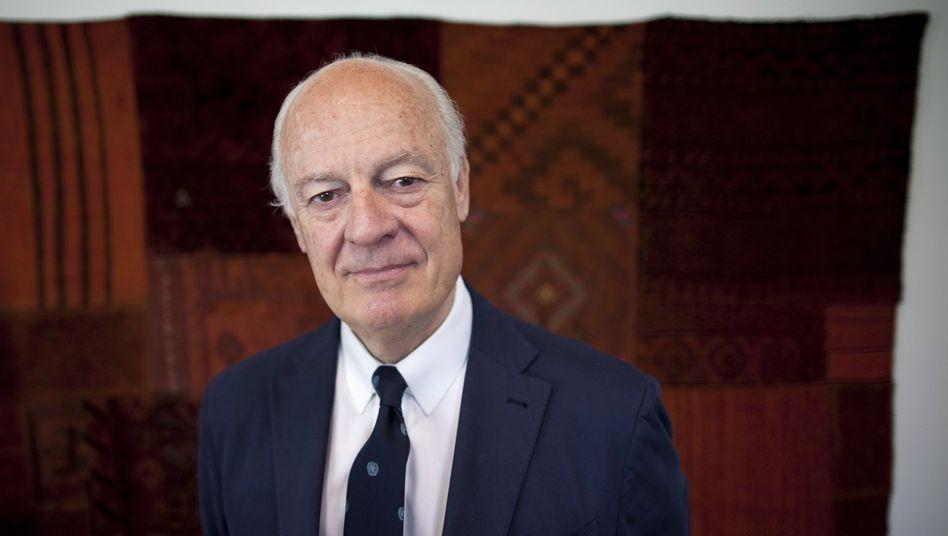 Staffan de Mistura: Gesandter für die Uno - nicht für die Arabische Liga