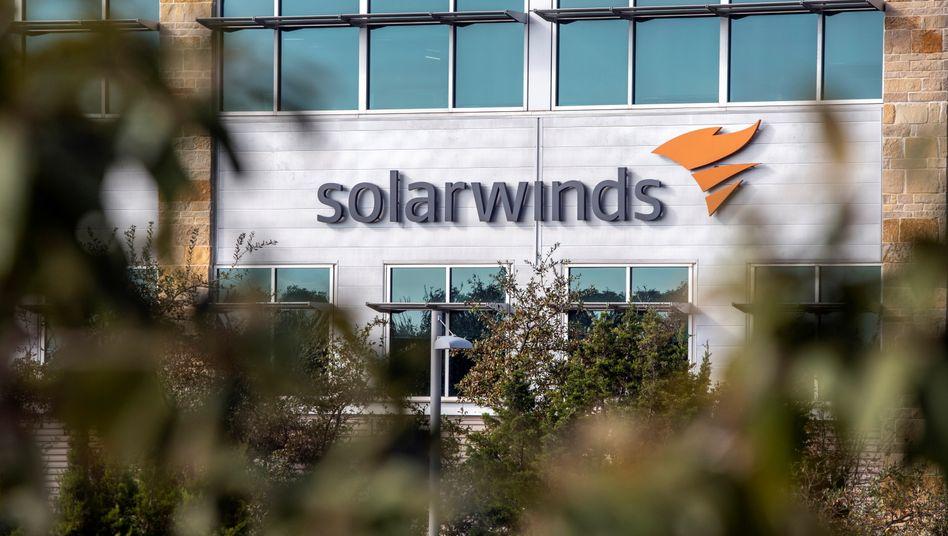 Firmenzentrale von Solarwinds in Austin, Texas
